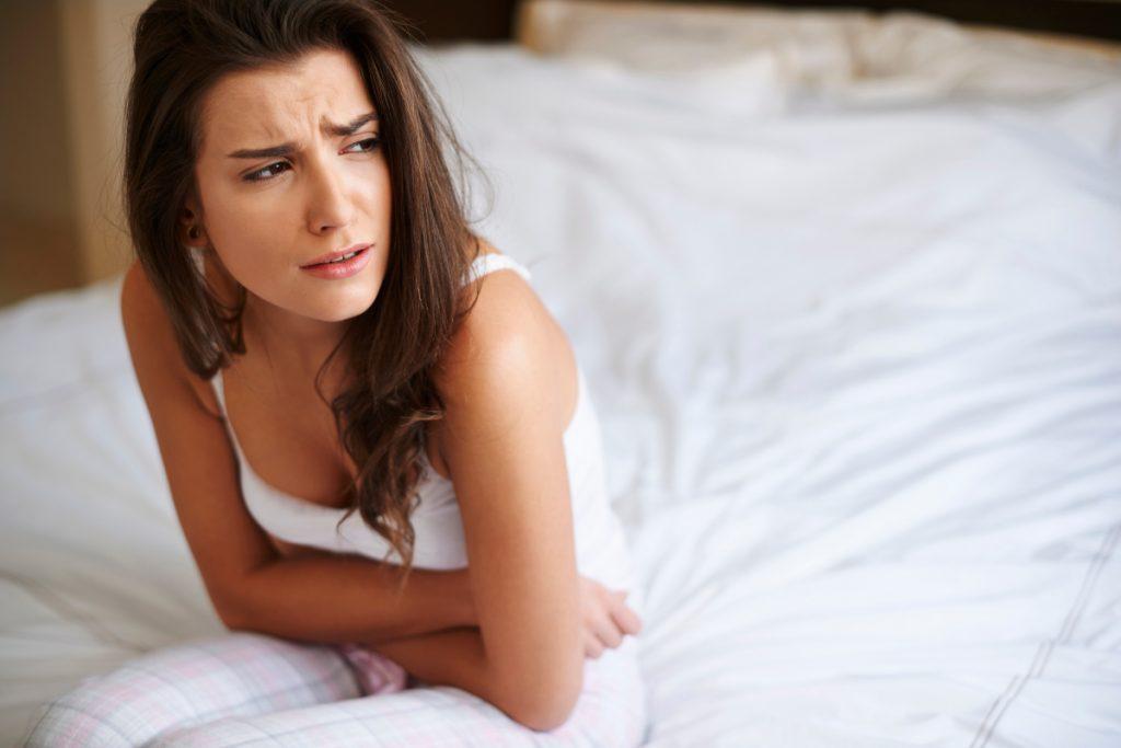 Główne objawy PMS