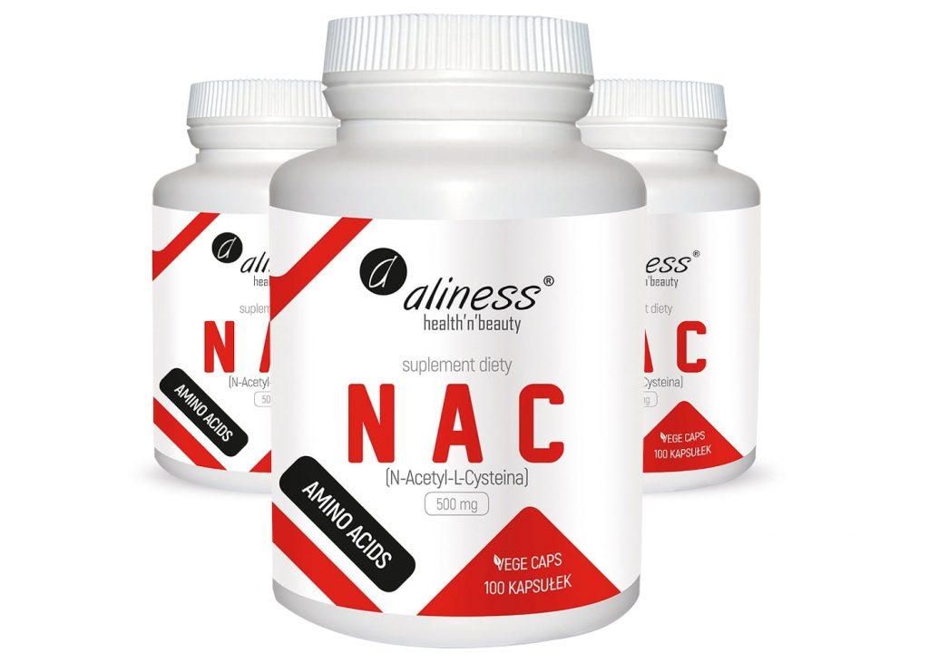 W jaki sposób suplementować NAC?