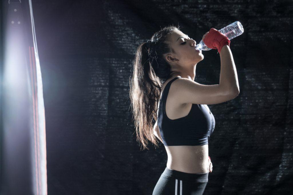 Woda podczas odchudzania i treningu personalnego