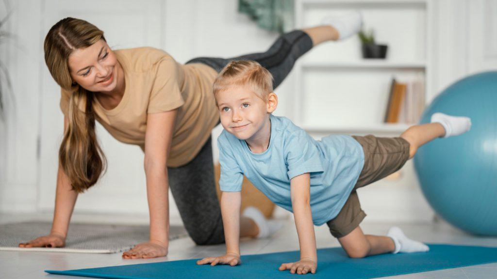 Ćwiczenie na rozstęp mięśnia