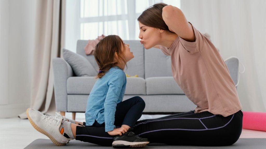 Zalety treningu z dzieckiem w domu